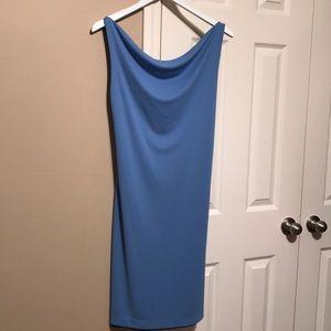 Reversible Black Blue Dress